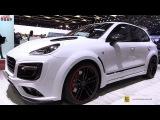2017 Porsche Cayenne Turbo TechArt Magnum Sport - Walkaround - 2017 Geneva Motor Show