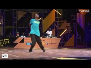 JONATHAN (BRA) vs LUANA (BRA) -RIO H2K BATTLES = HIP HOP SEMIFINAL   Danceproject.info
