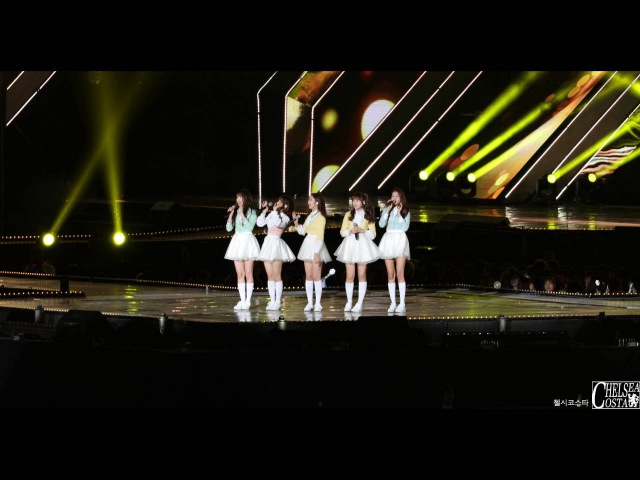 [4K] 161023 여자친구(GFRIEND) 부산 원아시아 페스티벌 드림콘서트 Full 직캠(Fancam) by 첼시코스타