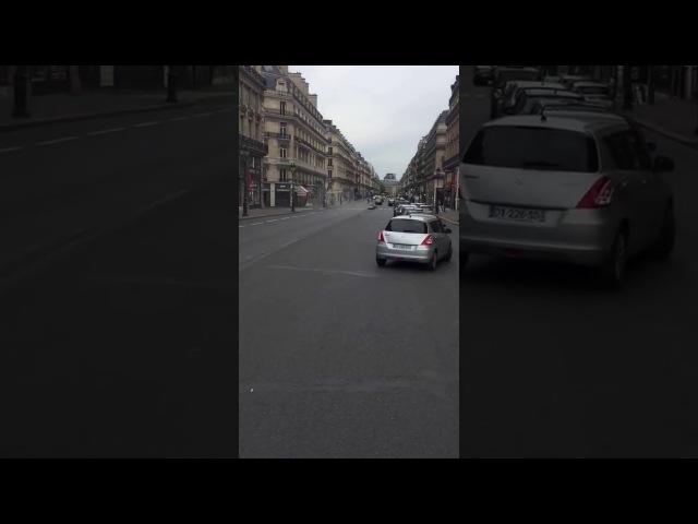 Tom Cruise à Paris avenue de l opera tournage mission impossible 6