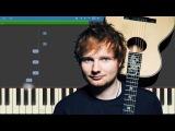 Ed Sheeran - Shape Of You - Piano Tutorial - Instrumental