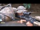 Солдаты пехотной дивизии Армии США на учениях