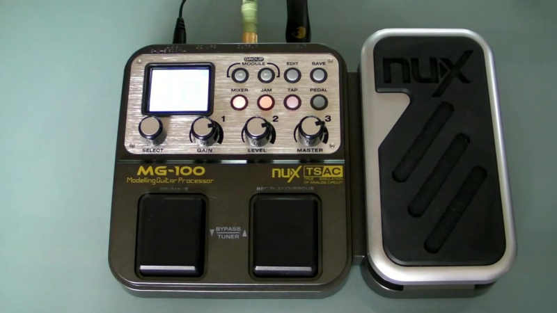 NUX MG-100 ( Multi effects Processor )