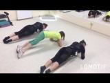 Парная тренировка Кати и Илюзы
