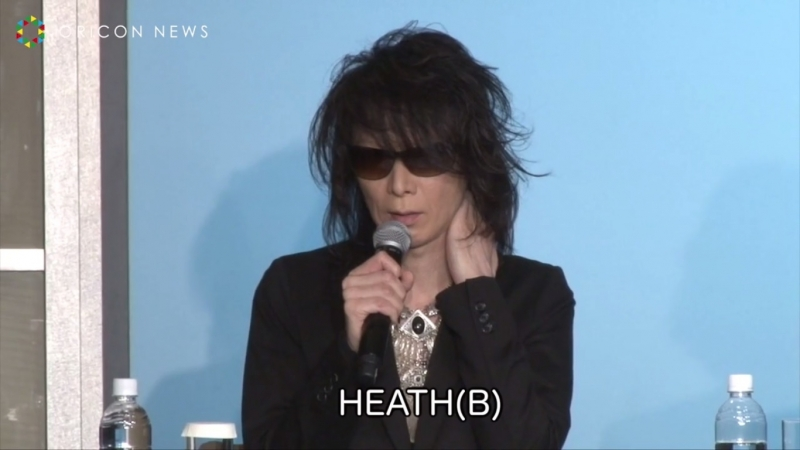Heath, Toshi, Pata [09.06.2017] XJAPAN WORLD TOUR 2017 WE ARE X Acoustic Special Miracle