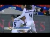 Реакция Шакиры на гол Роналду в ворота Барселоны