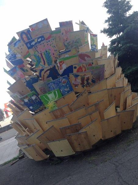 В центре Красноярска поставили «Шишку желаний»    В Красноярске возле