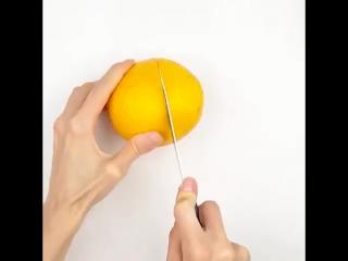 Top 5-Minute Crafts #64 Как очистить фрукты.