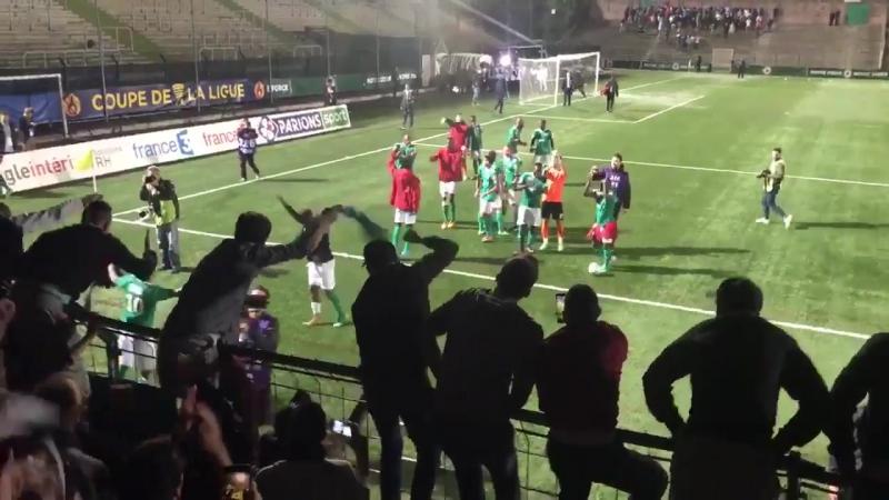 La réaction de Bauer apres la victorie du Red Star FC (08/08/2017)
