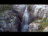 Каньон Узунджа. водопад