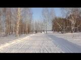 Зима в Чайковском. Дорога у пляжа.
