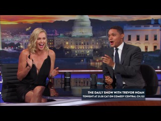 Charlize Theron on The Daily Show with Trevor Noah