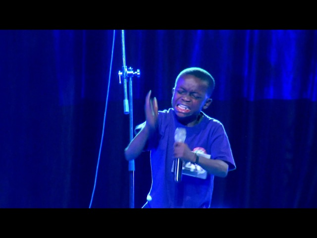 A MUST WATCH VIDEO A 10 year old boy singing in a Talent Hunt and The Holy Ghost took over