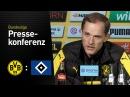 Thomas Tuchel nach dem Heimsieg gegen den HSV | BVB - Hamburger SV 3:0