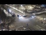 ДТП Уссурийск 21 февраля перекресток ул. Ленина ул. Суханова Toyota Platz