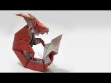 How to fold Origami Capricorn