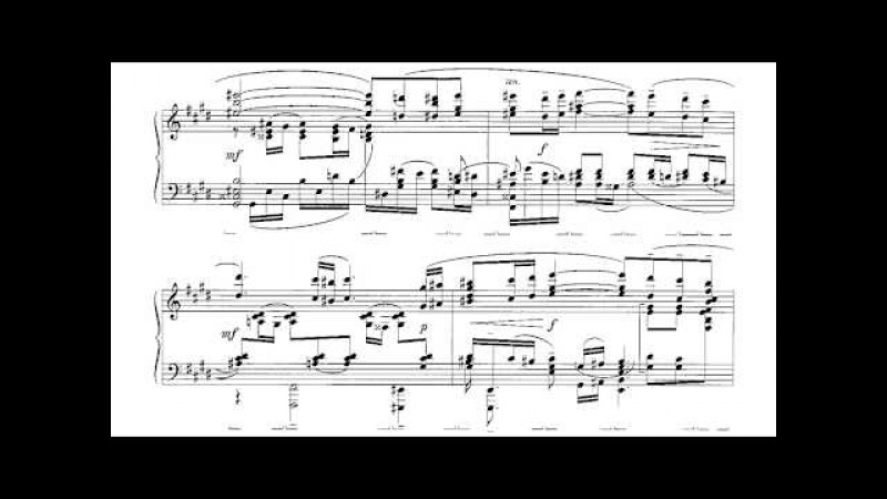 Rachmaninoff-Wild - Vocalise for piano solo (with sheet music)