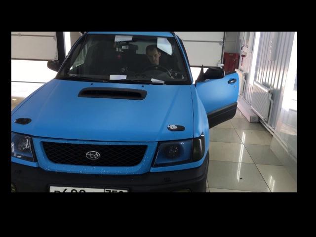 Вежливые поворотники. Вежливая аварийка. Subaru Forester SF sti