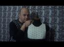 Платье крючком Мулан. Часть 4. Соединение спинки и переда.