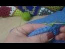 Как я соединяю квадраты пледа и другие детали вязаных изделий