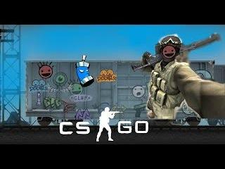 100 слоев граффити на стену (CS:GO)