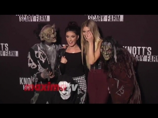 Knott's scary farm black carpet event, 30 сентября 2016