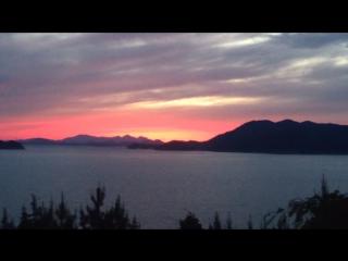 Закат на островах Вандо Ю.Корея