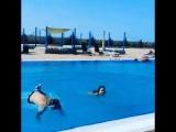 Pool — crazy jumps