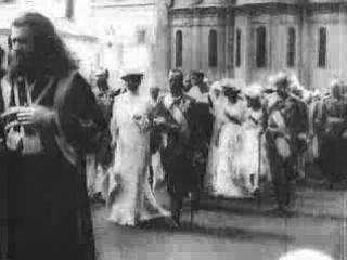 Вербное Воскресенье в Москве, 1903 г.
