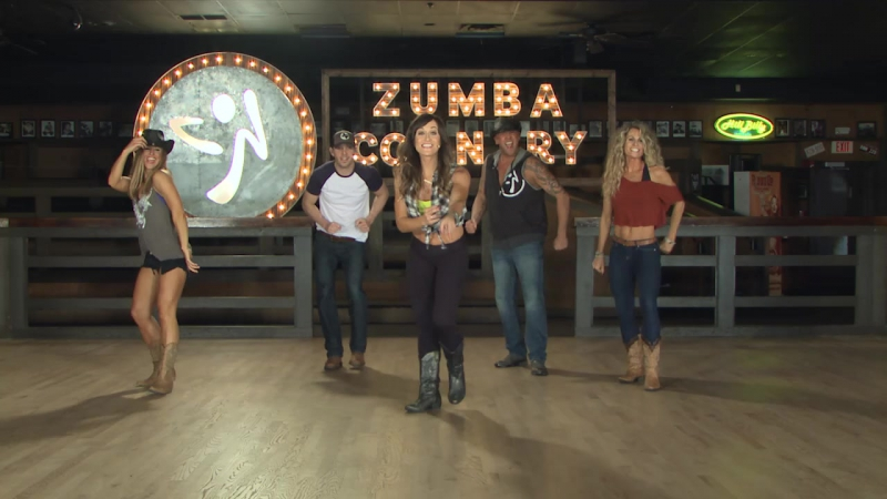 Zumba Country - 07 Eatin My Heart Out - Country Rock - Cues On