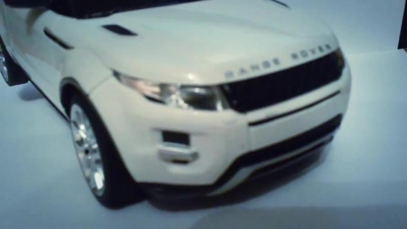 Range Rover Evoque на радиоуправлении RASTAR