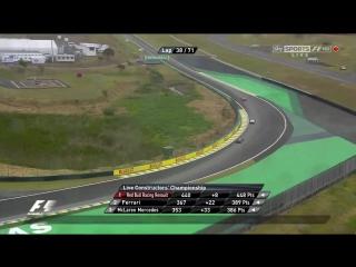 F1 2012. Гран-при Бразилии. Гонка