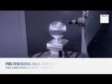 Обработка шарообразной детали. Удивительные технологии ЧПУ