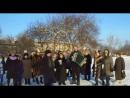 Пермский край поёт на 30 градусном морозе Таких песен ещё не было! - песенный флешмоб
