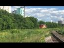 Электровоз ЧС7-319 (ТЧЭ-1 Москва-Пассажирская-Курская) и ЧМЭ3-3717 (ТЧ-2 Люблино (филиал ТЧЭ-2))