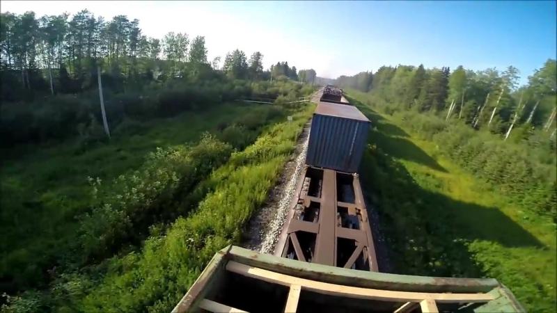 Трейнхоп На Север ТХ 43 Trainhop Russia