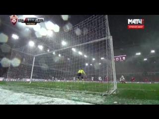Спартак  Москва 2-1 Рубин | Чемпионат России 2016/17 | Премьер Лига | 17-й тур | Обзор матча