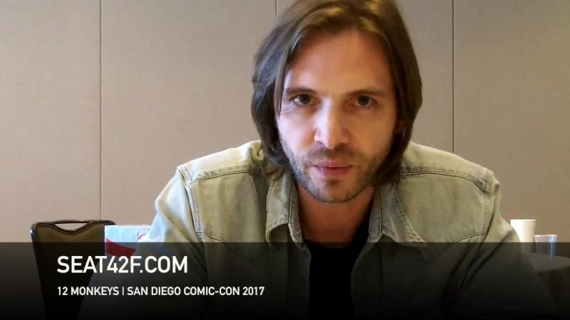 Aaron Stanford интервью | 12 Обезьян | 12 Monkeys | Interview | Comic Con