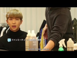 [Rus Sub][Рус Саб] BTS Japan Official Fanmeeting Vol 3 Osaka Making Film