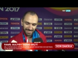Azerbaycan Uyruklu Trk Atlet Ramil Guliyev Dnya ampiyonu Oldu