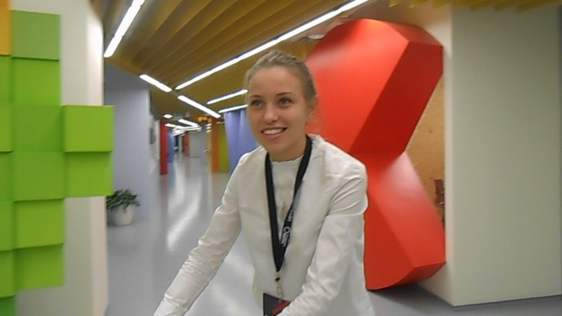 Радио ПГУ - в офисе Яндекса!