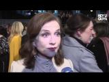 Isabelle Huppert Interview - BAFTA 2017 | Изабель Юппер