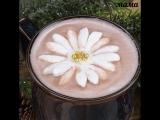 рецепт живой цветок в какао