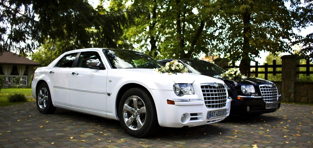 Весільний кортеж CHRYSLER 300c, автомобілі для весілля
