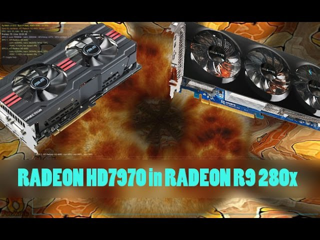 Перепрошивка видеокарты AMD Radeon HD 7970 в Radeon R9 280x