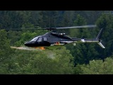 GIGANTIC RC BELL-222 AIRWOLF VARIO SCALE MODEL ELECTRIC HELICOPTER NICE FLIGHT