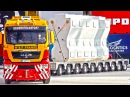 HEAVY Haulage RC Truck Transportation BIG Steel Carriers RC Glashaus MAN