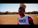 Olympic Gold Medalist Natasha Hastings Workout (Music by V-Sine Beatz)
