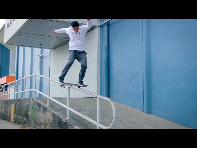 My City - Heredia, Costa Rica - Kervin Miranda   Volcom Skate