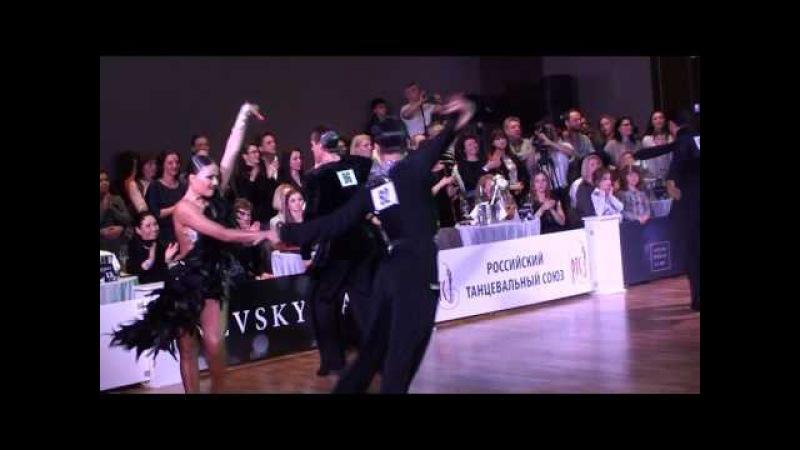 Kirill Aleksandrov - Anastasiya Dubrovskaya Nevsky Ball Amateur Latin 1/2 Samba